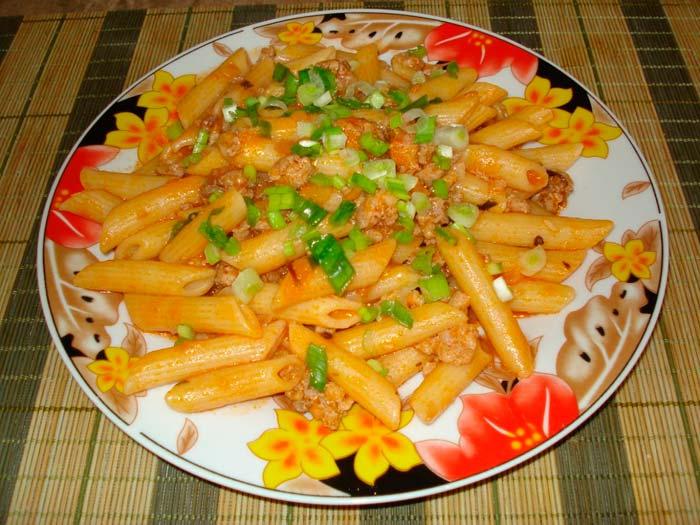 макароны флотски рецепт тушенкой фото