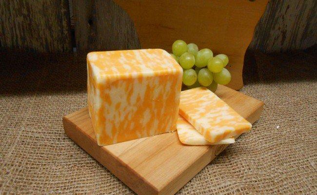 Сыр мраморный в домашних условиях